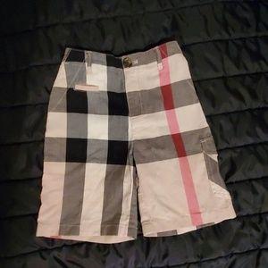 Burberry Childrens Bermuda Shorts